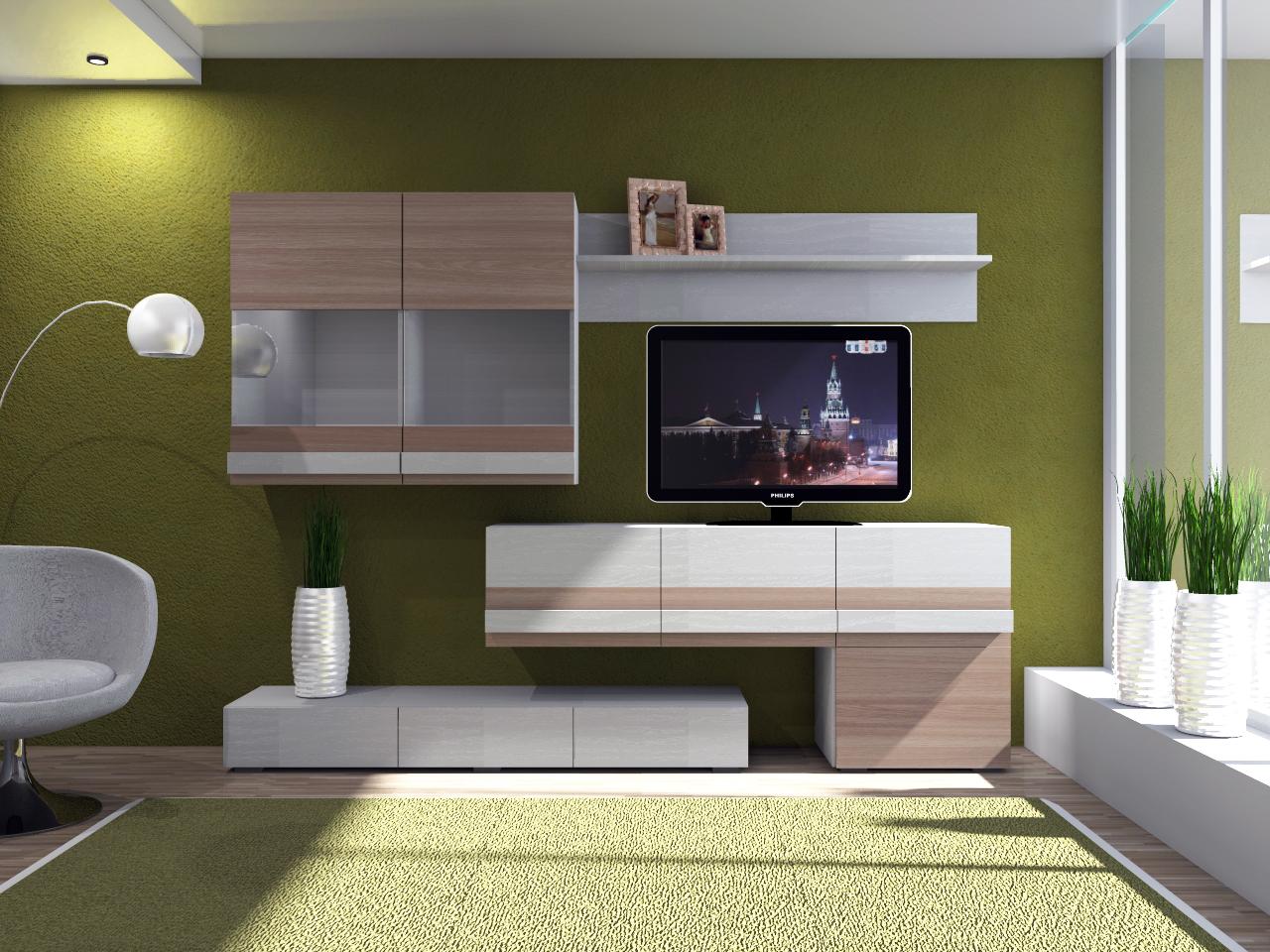тумбы гостиные лофт 2 модульная мебельный салон престиж г